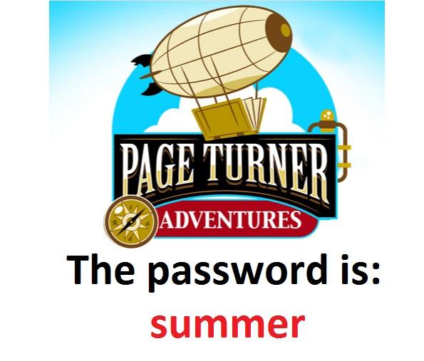 summer password for pageturner