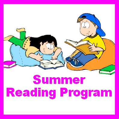 summer reading program square